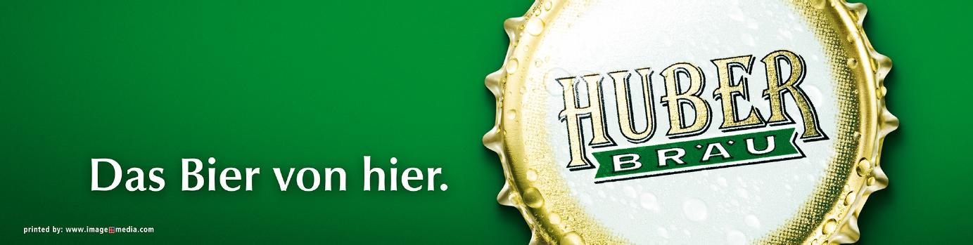 Logo Sponsor Huber Bräu