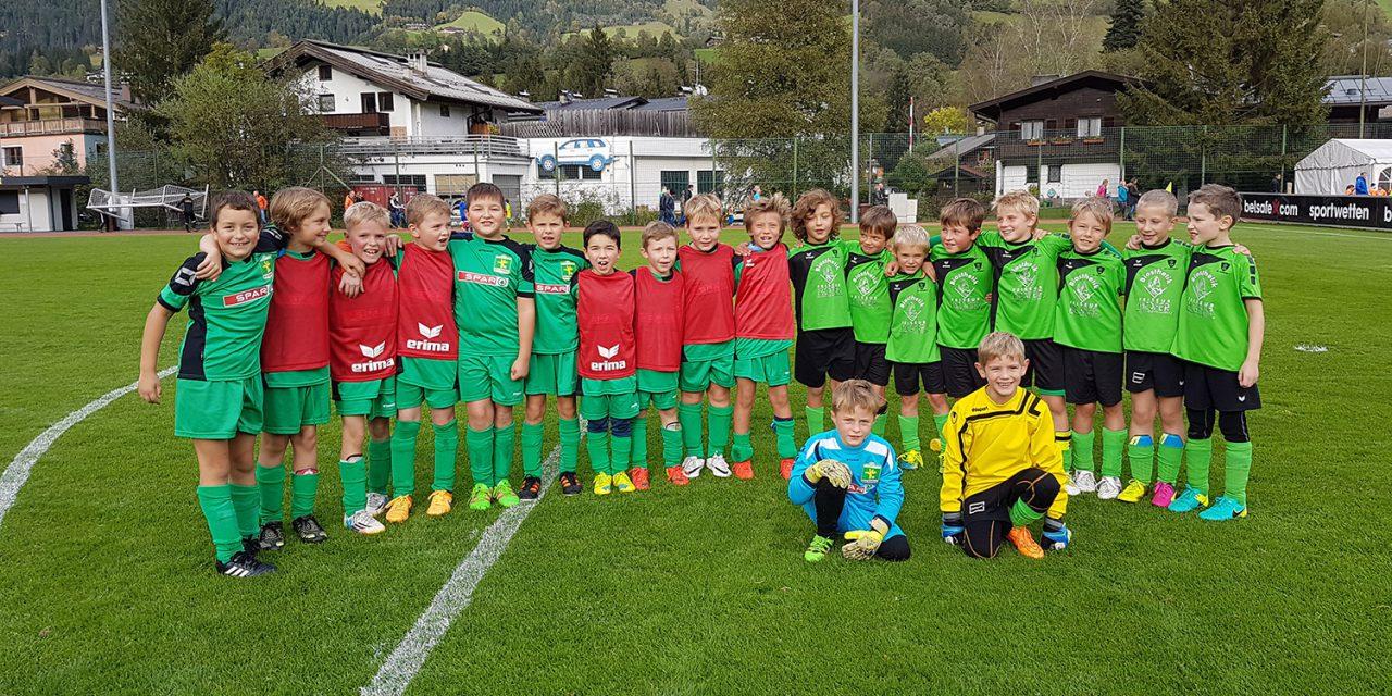 U9 – Spiel gegen Kitzbühel (oder: scho wida oa Tor?)