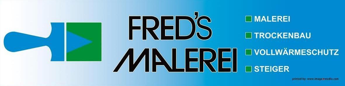 Logo Sponsor Fred's Malerei